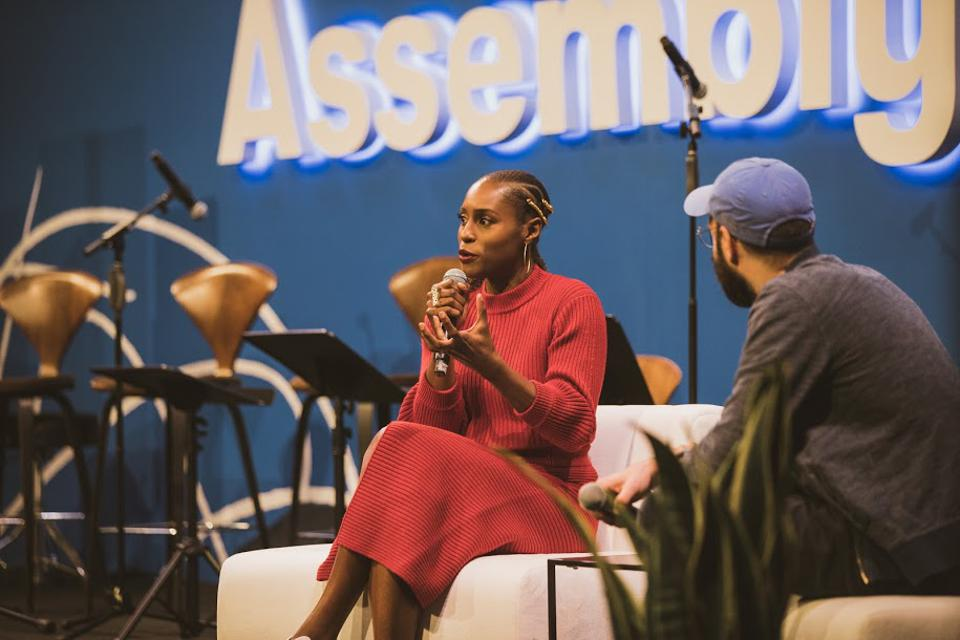 TV creator and actor Issa Rae talks about creativity and business with Patreon CEO/Founder Jack Conte
