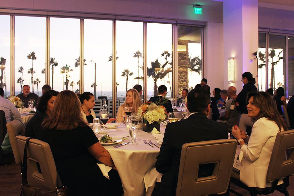 The VIP Dinner at the Leadership In the Age of Personalization Summit in Huntington Beach, CA.