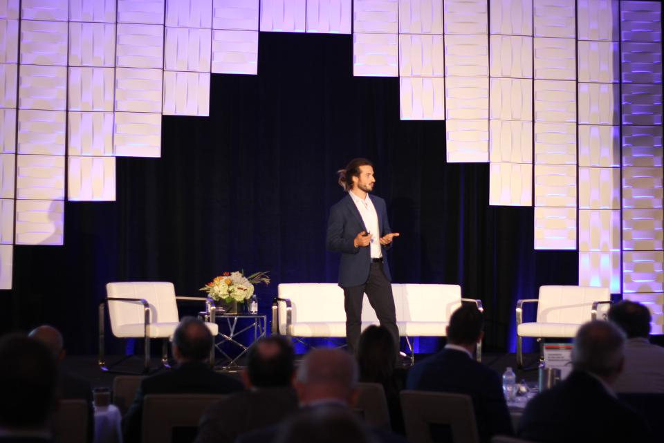 Guilherme Oliveira at the Leadership in the Age of Personalization Executive Summit.