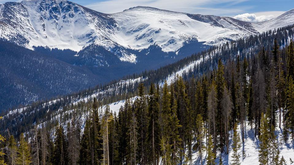 Colorado has experienced record snowfalls in October for early skiing.