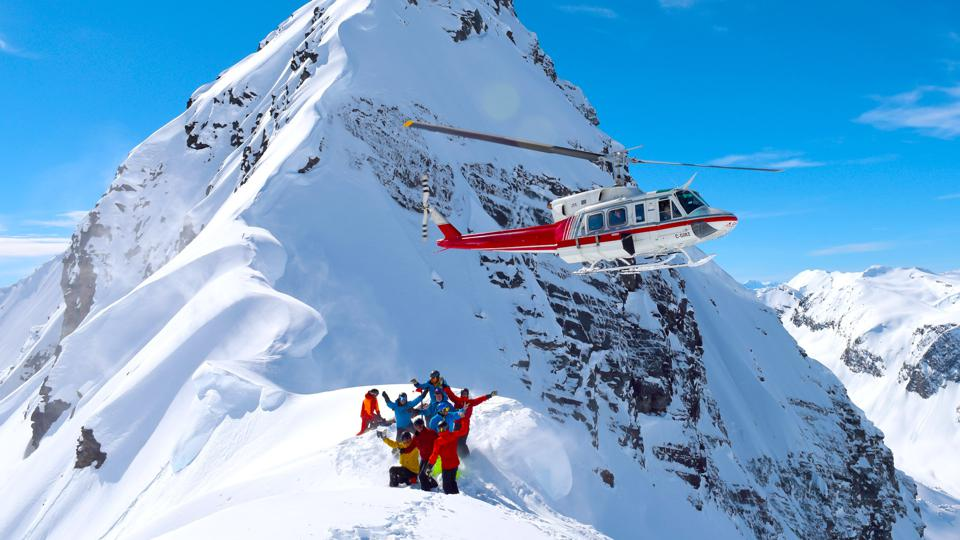Heli-Skiing tests the mettle of all skiers who crave adventure.