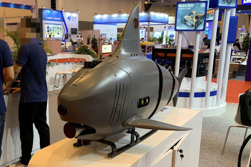 Changing Face Of Drone Warfare Robot Sharks