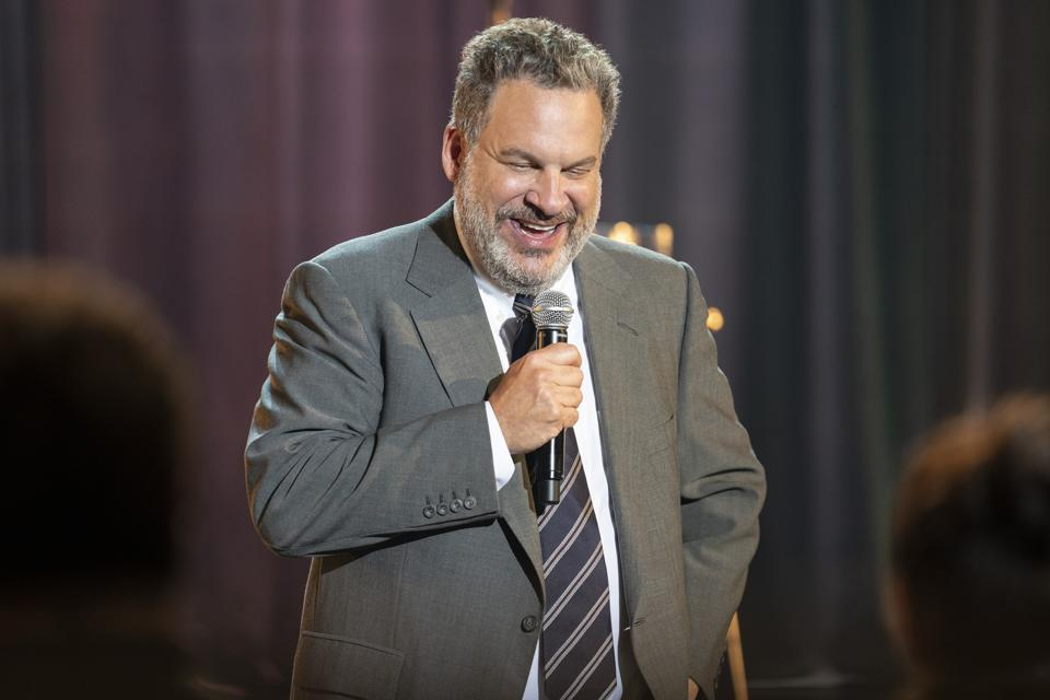 Jeff Garlin performs in 'Our Man In Chicago' on Netflix.
