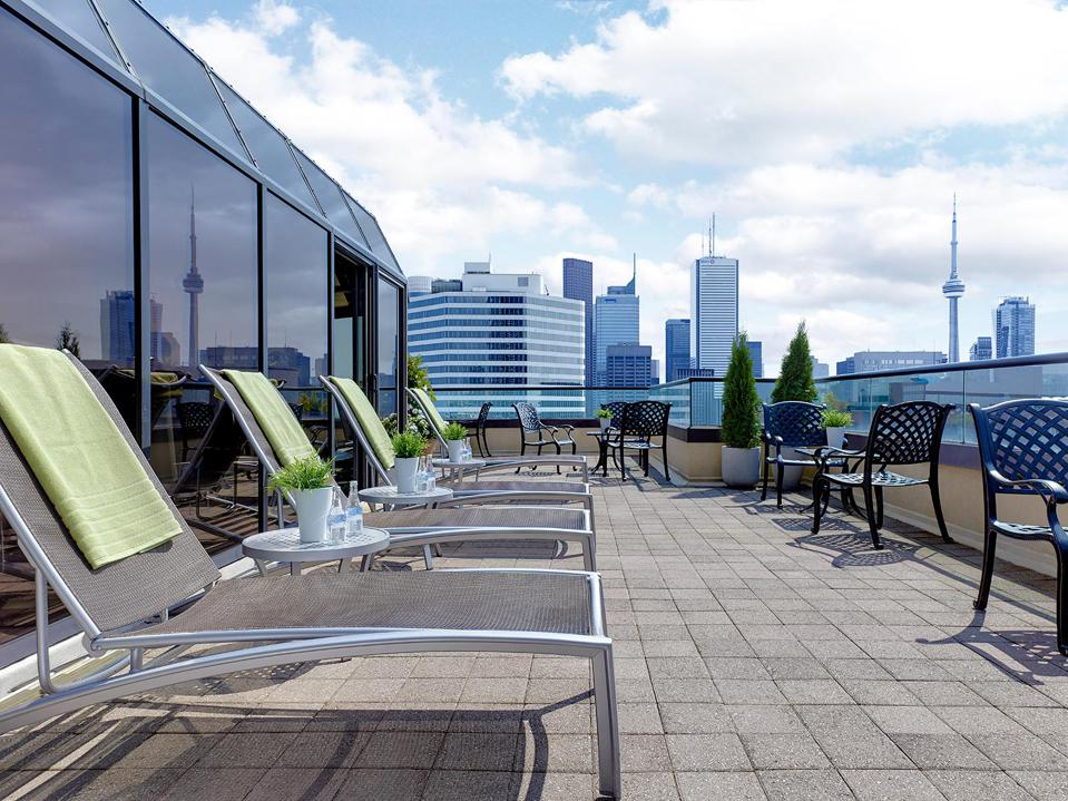 Sundeck at the Chelsea Hotel in Toronto