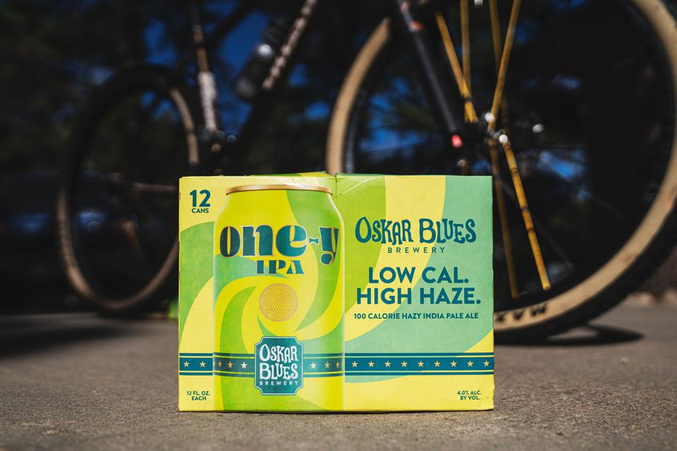Oskar Blues One-y IPA contains just 100 calories.