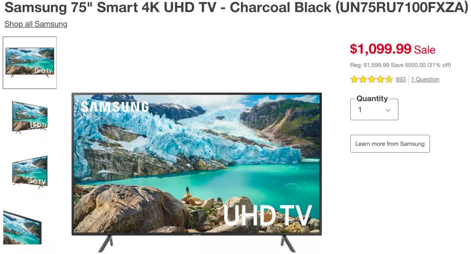 Target Black TV Deals Friday, the best deals on black friday tv