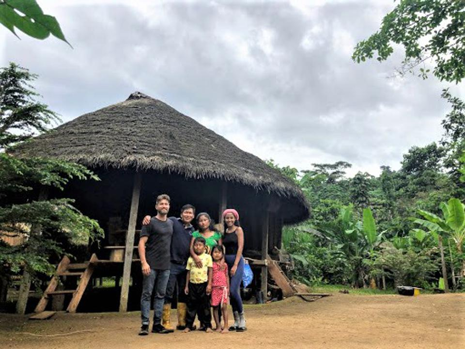 Amazon rainforest community