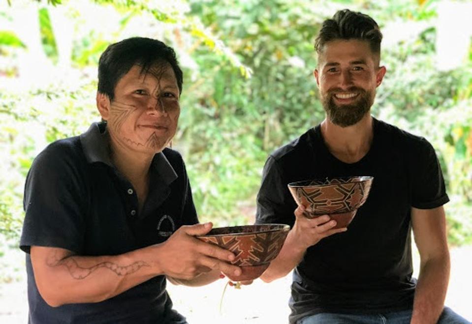Amazon rainforest community chief
