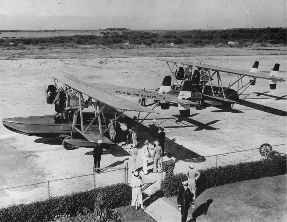 Hawaiian Airlines S-38s