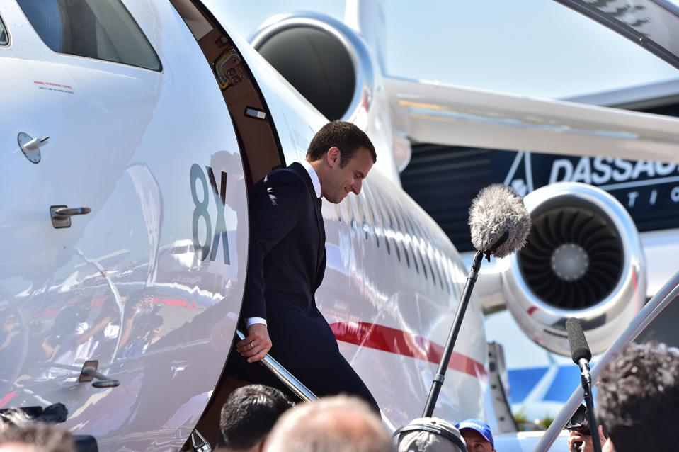 FRANCE-TRANSPORT-AVIATION-AIRSHOW-POLITICS-DEFENCE