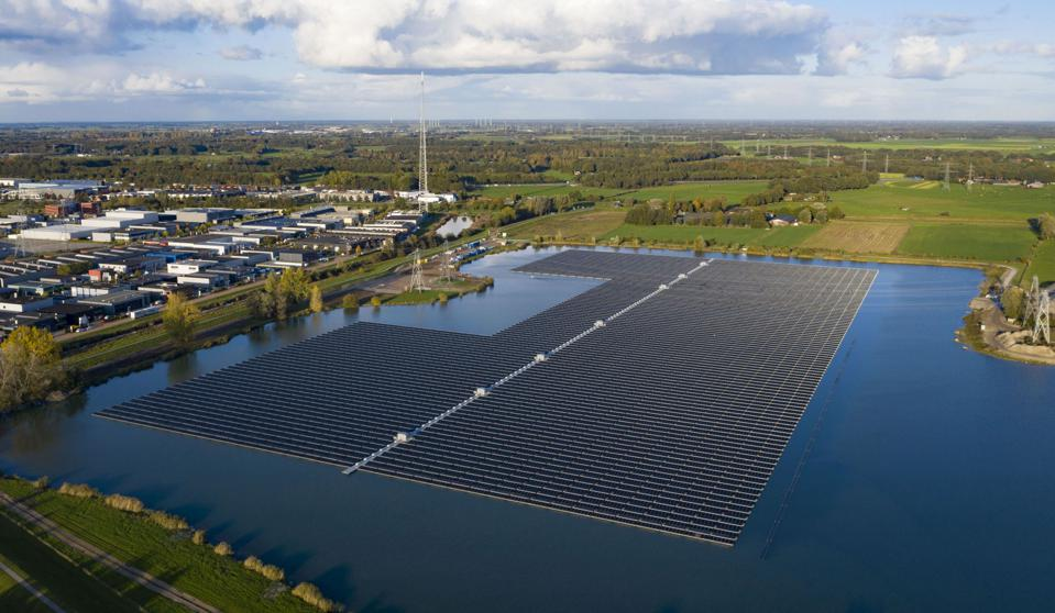The construction was done in only six weeks and the plant can power 4,000 households.