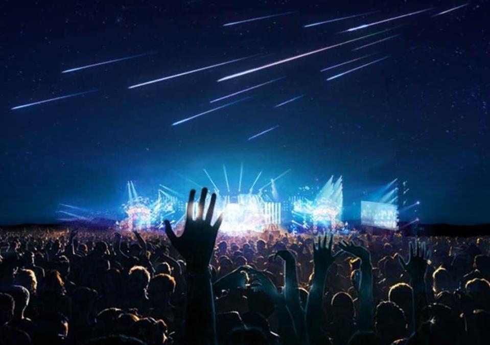Artificial meteors
