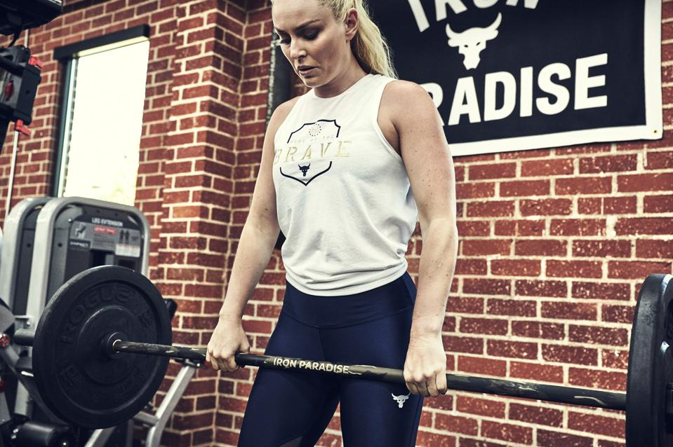 Project Rock Under Armour Lindsey Vonn