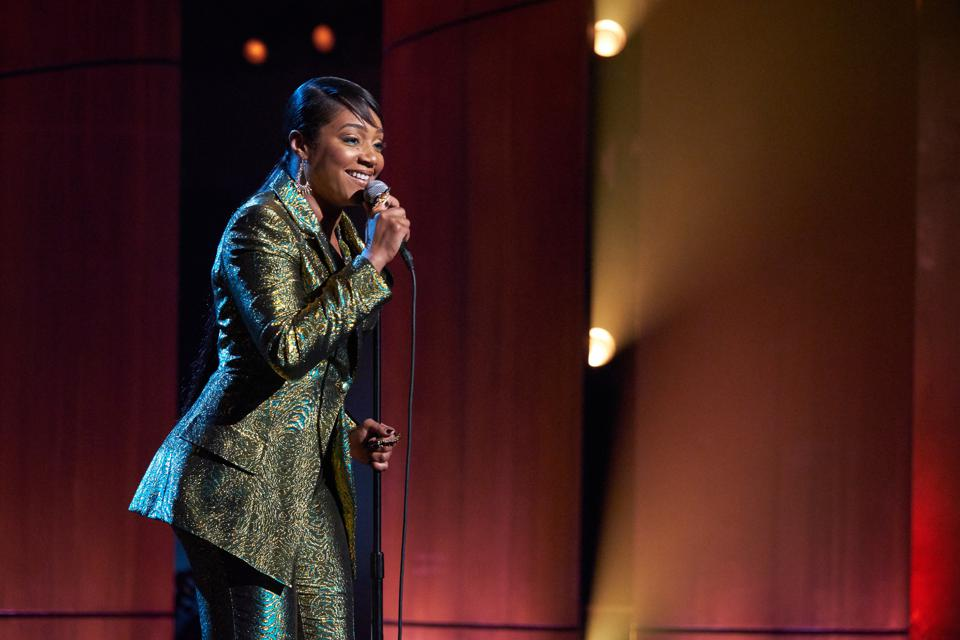 Tiffany Haddish performs in 'They Ready' on Netflix.