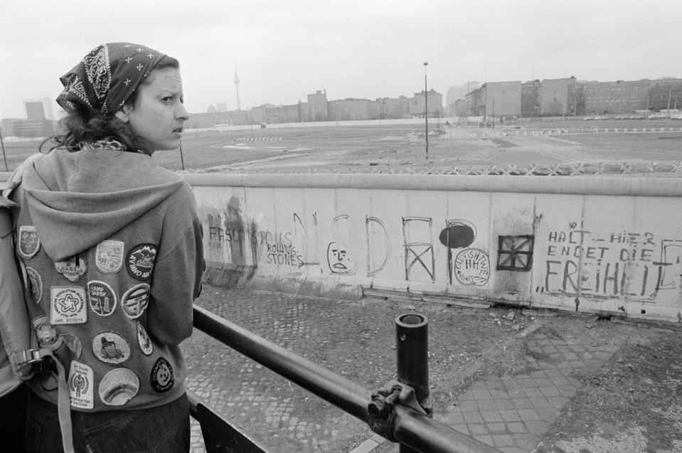 Berlin Wall in 1980