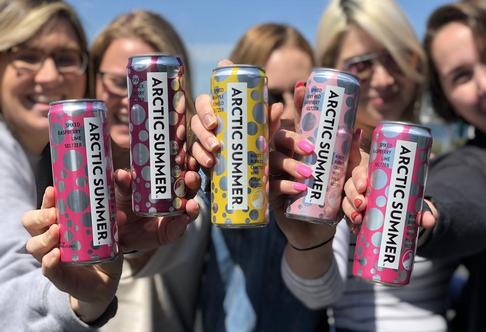 Arctic Summer Alcoholic Seltzer