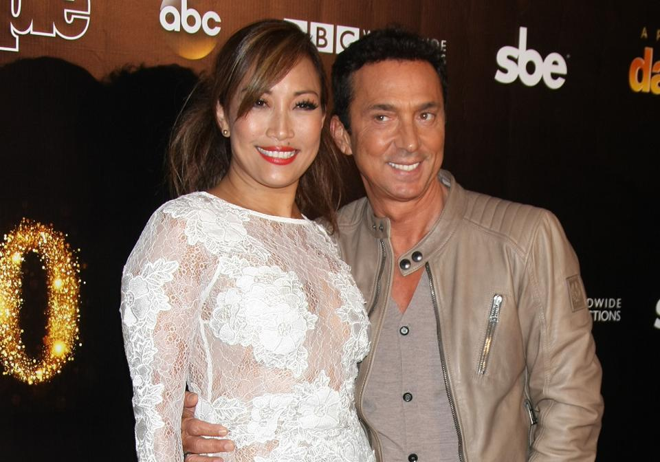 Rewarding the right things: Dancing With the Stars judges Carrie Ann Inaba and Bruno Tonioli