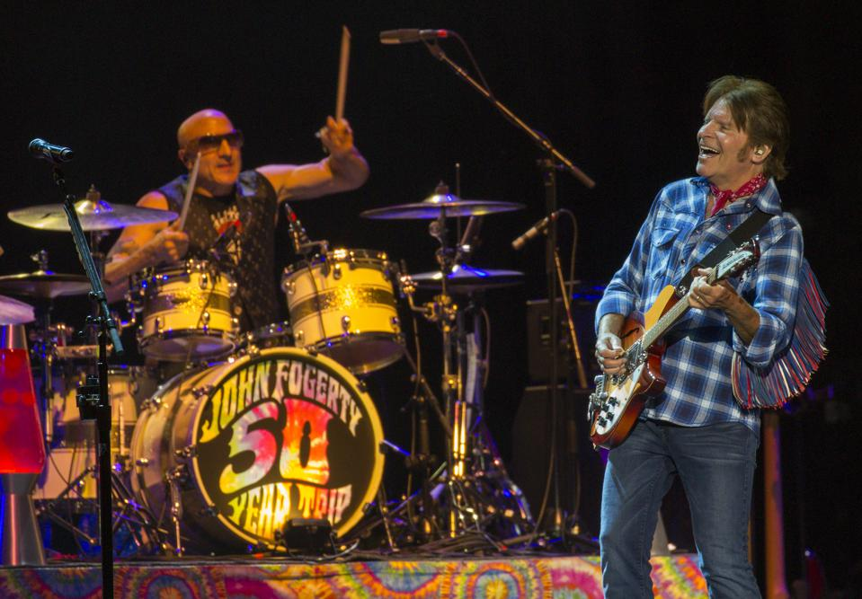 John Fogerty performs at the Bourbon and Beyond festival. Friday, September 20, 2019 in Louisville, Kentucky (Photo by Barry Brecheisen)