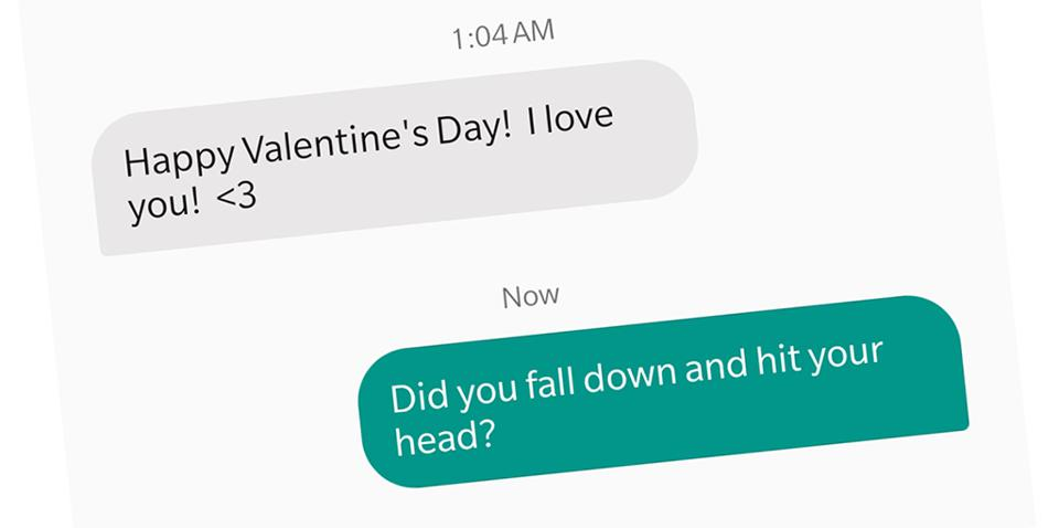 Random Valentine's Day Text