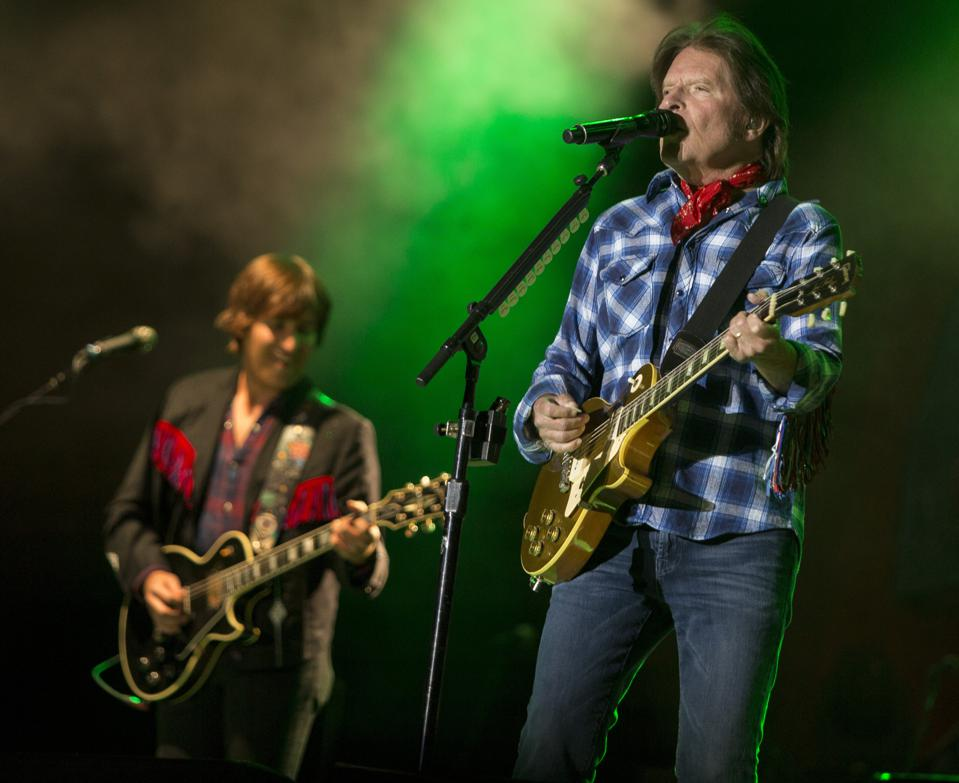 John Fogerty performs at the Telluride Blues and Brews festival. Friday, September 13, 2019 in Telluride, Colorado (Photo by Barry Brecheisen)