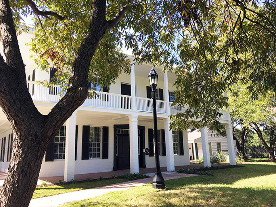 The 1847 Kellum-Noble House in Houston has been renovated and is reopening.