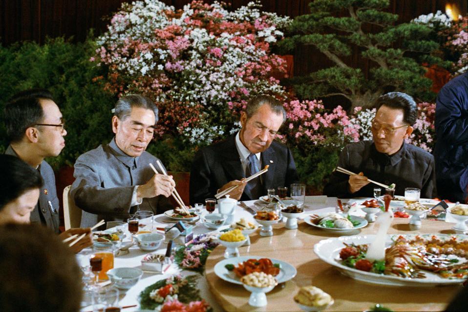 Nixon China dinner