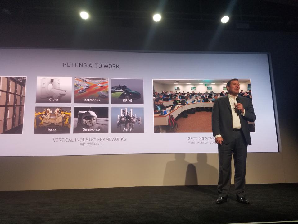 NVIDIA GTC 2019: It's All about AI