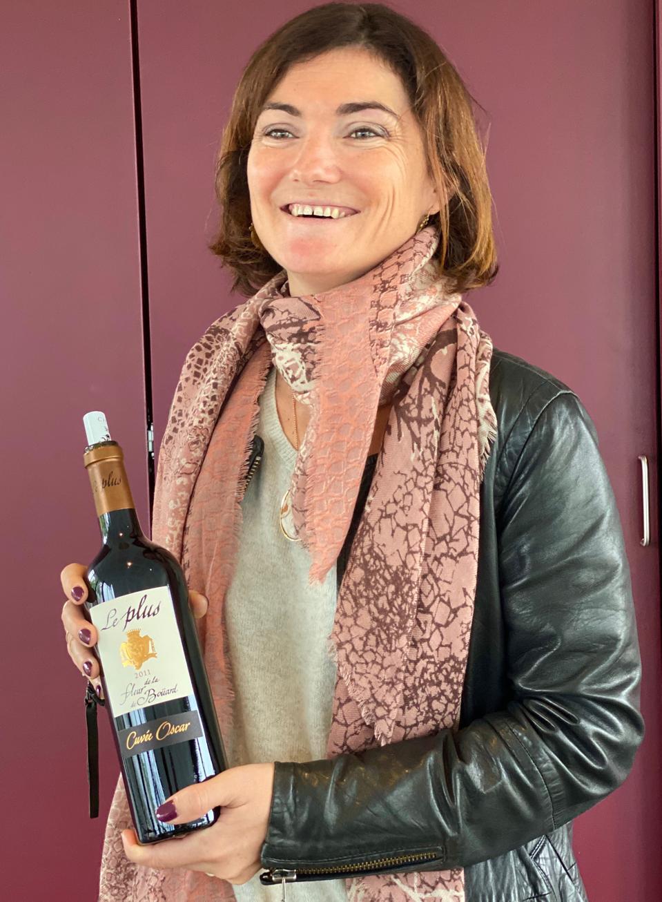 Owner/winemaker Coralie de Boüard
