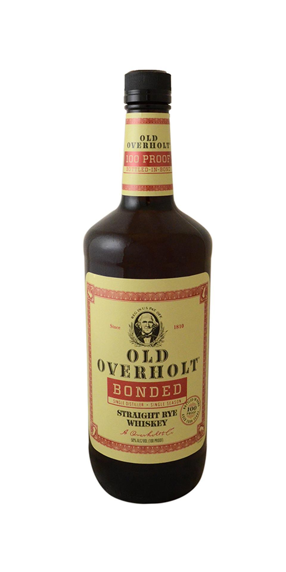 Old Overholt, Bottled in Bond, Straight Rye Whiskey