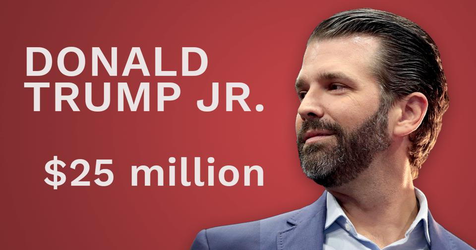 Here S How Much Don Jr Eric And Ivanka Trump Are Worth