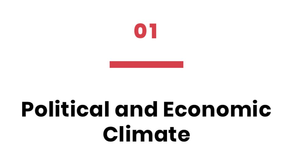 01 Political and Economic Climate