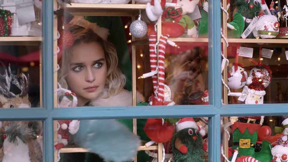 Emilia Clarke in 'Last Christmas'