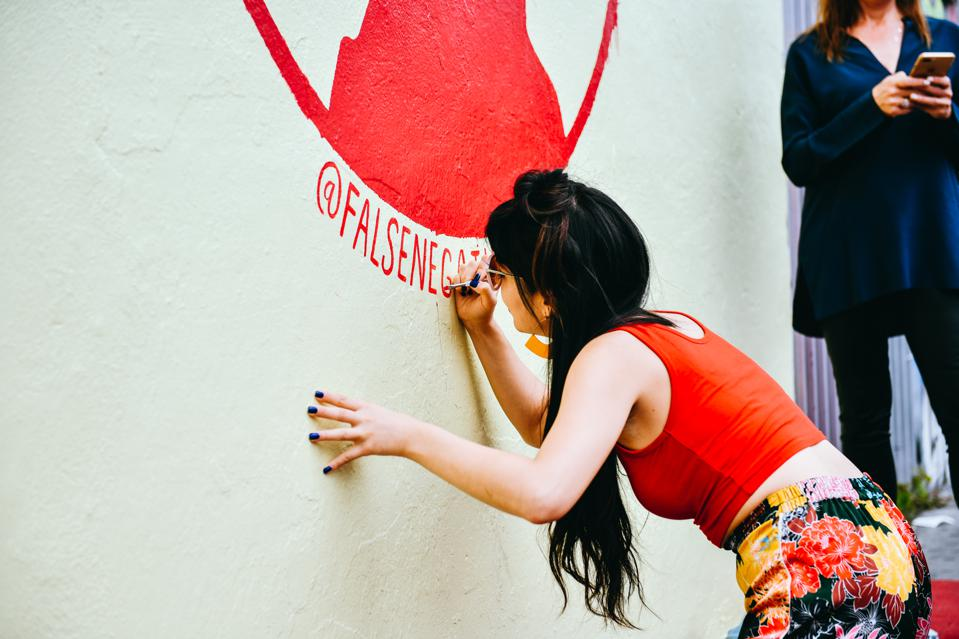The street art movement came about through loopholes in the anti-graffiti laws.