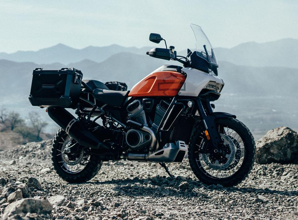 The Pan America is Harley-Davidson's attempt to get in on the popular off-road 'adventure touring' segment.