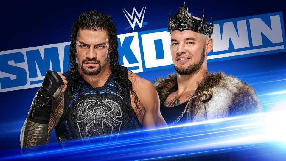 King Corbin Roman Reigns WWE Friday Night SmackDown