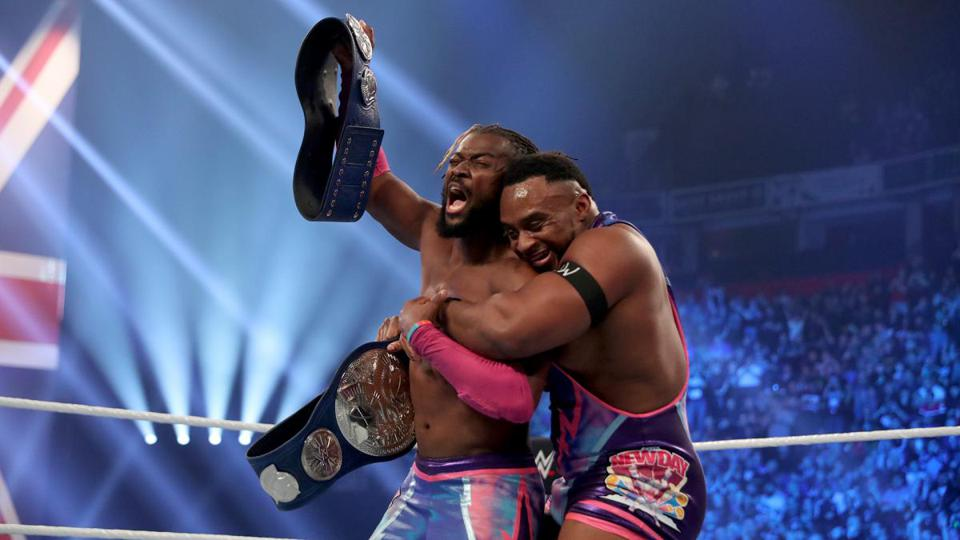 Kofi Kingston Big E WWE SmackDown Tag Team Championships Manchester