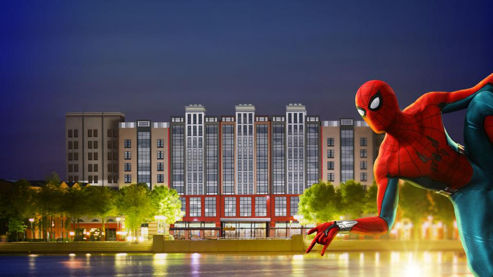 Disney's Hotel New York – The Art of Marvel will get a helping hand from super heroes like Spider-Man