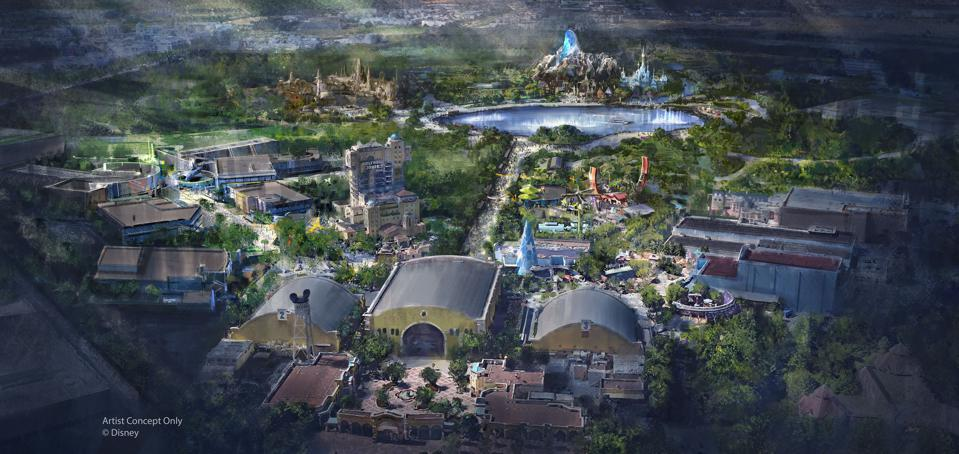 The Walt Disney Studios park is set to double in size through the addition of lands themed to Marvel, Star Wars and hit animated movie Frozen.