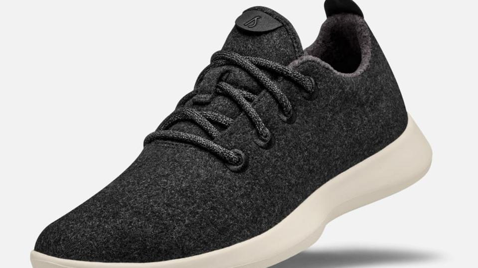 Allbirds' wool material results in a soft and cozy feel