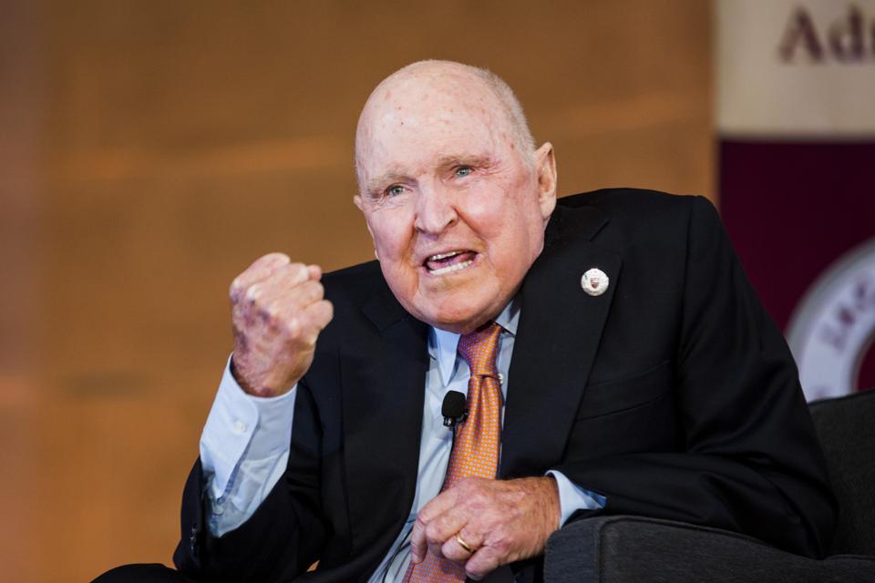 Former GE Chief Jack Welch Should Pay Back His $417 Million Golden Handshake