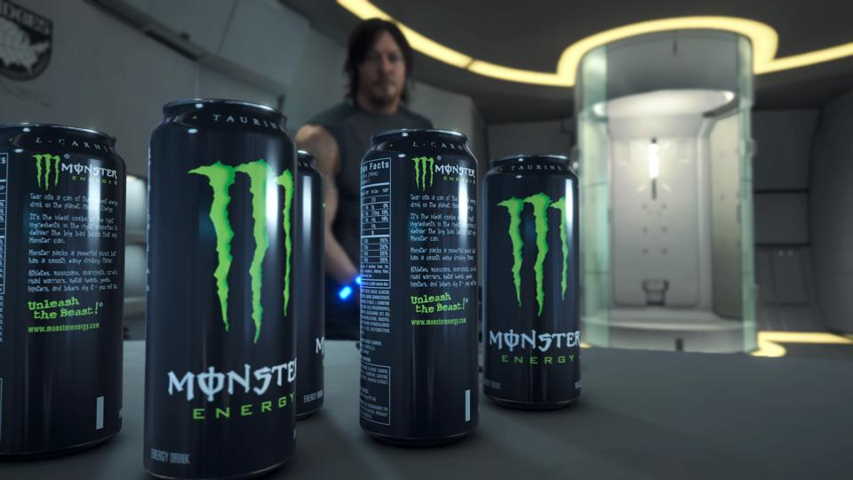 Image result for death stranding monster energy
