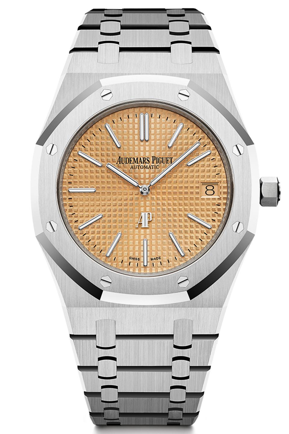 Audemars Piguet also won the Iconic Watch Prize for the Royal Oak Jumbo Extra-Thin.