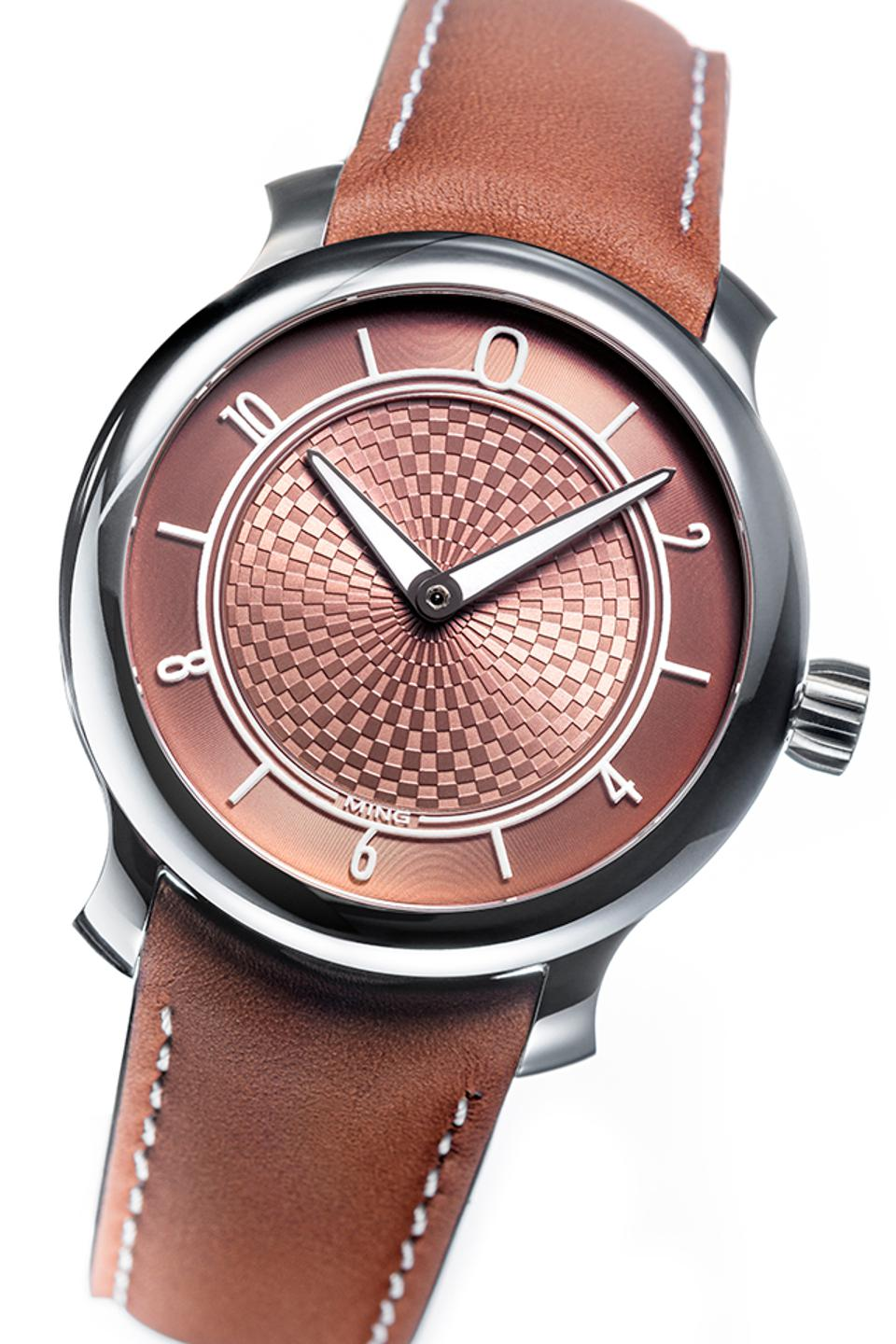 The Horological Revelation prize was awarded to Ming for the 17.06 Copper, with a striking etched copper dial and hand coated in Super-LumiNova.