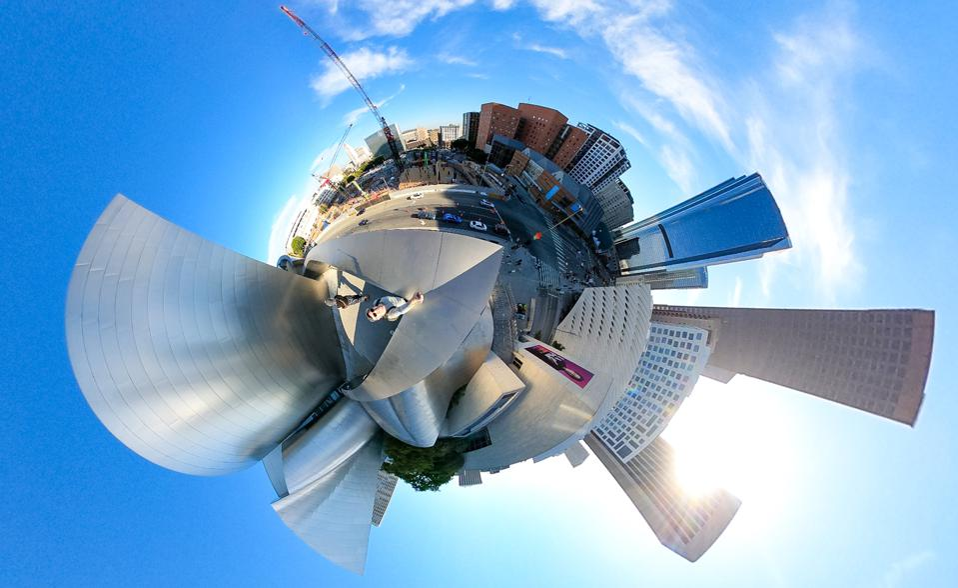 GoPro Max Tiny Planet - Disney Concert Hall
