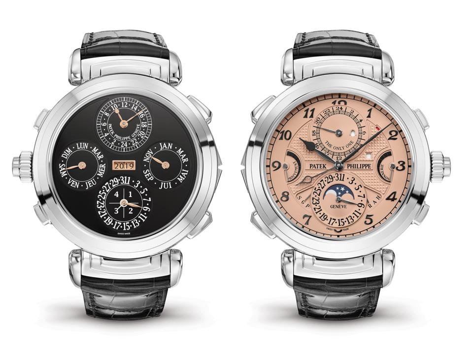 The CHF 31-million Patek Philippe Grandmaster Chime reference 6300A-010 set the record for the world's most expensive watch.