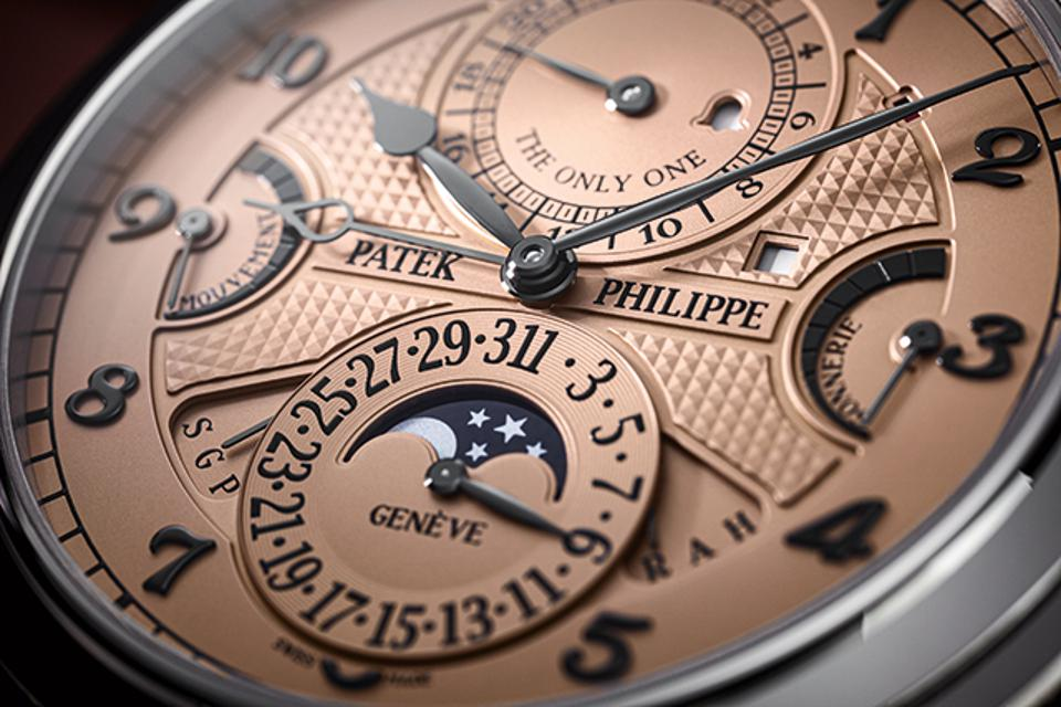 The CHF 31-million Patek Philippe Grandmaster Chime reference 6300A-010 has 20 complications.