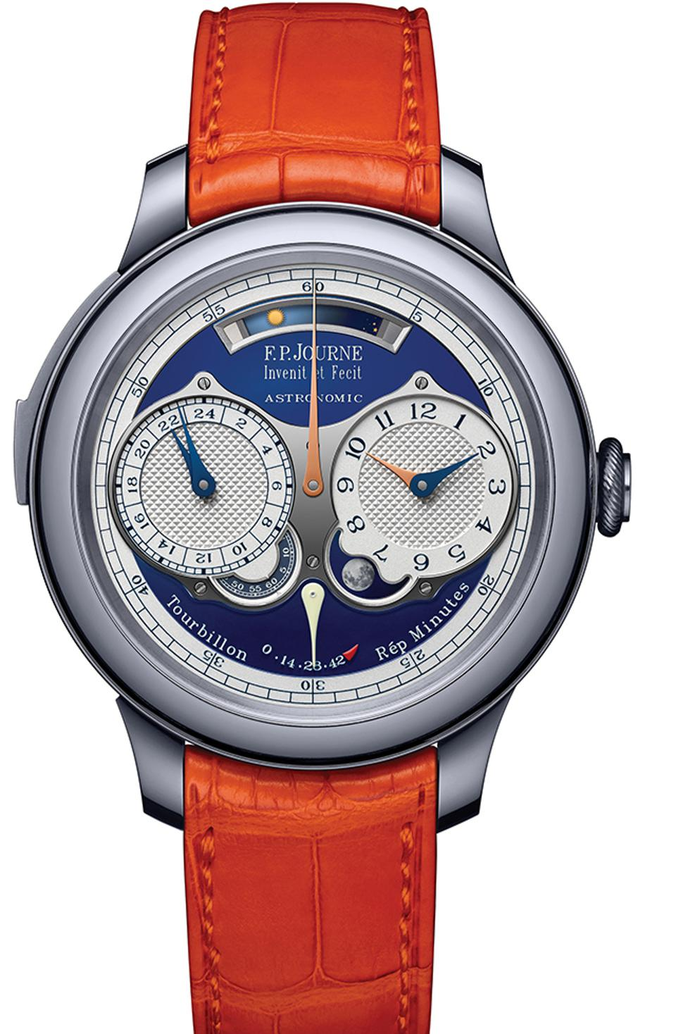 The F.P. Journe Astronomic Blue sold for CHF 1.8-million.