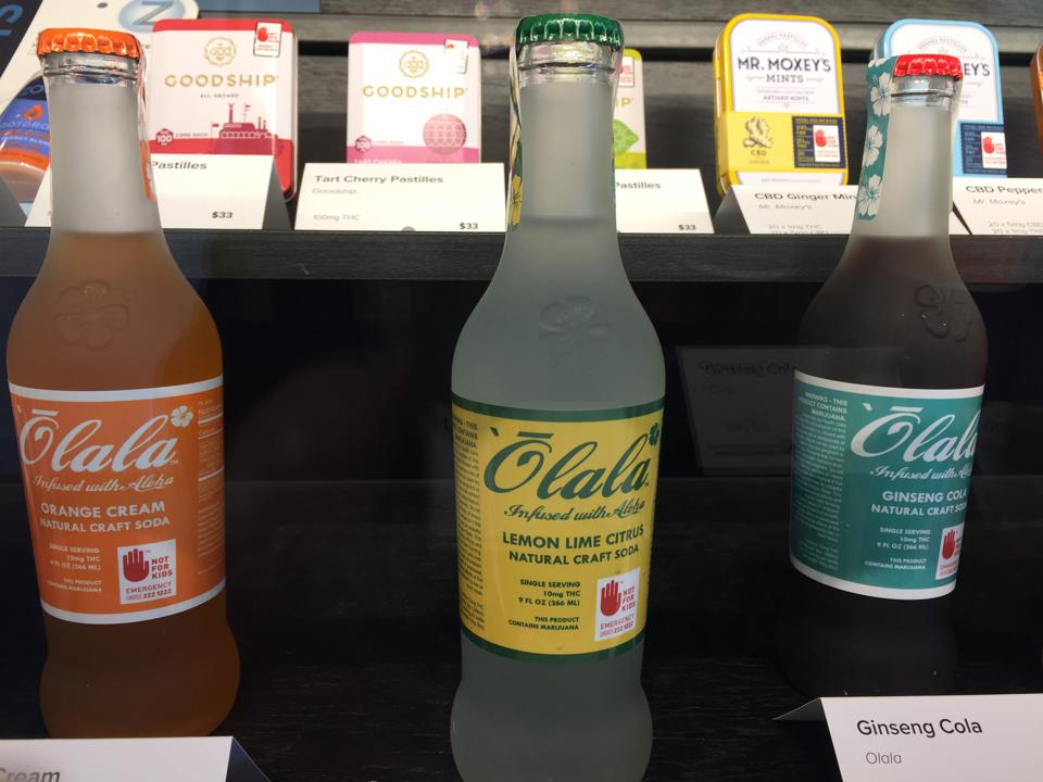 Retail Cannabis Drinks in Seattle