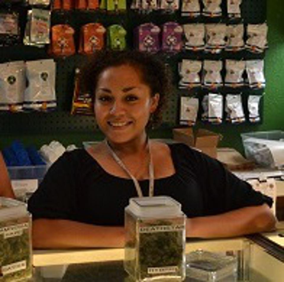 Cannabis budtender