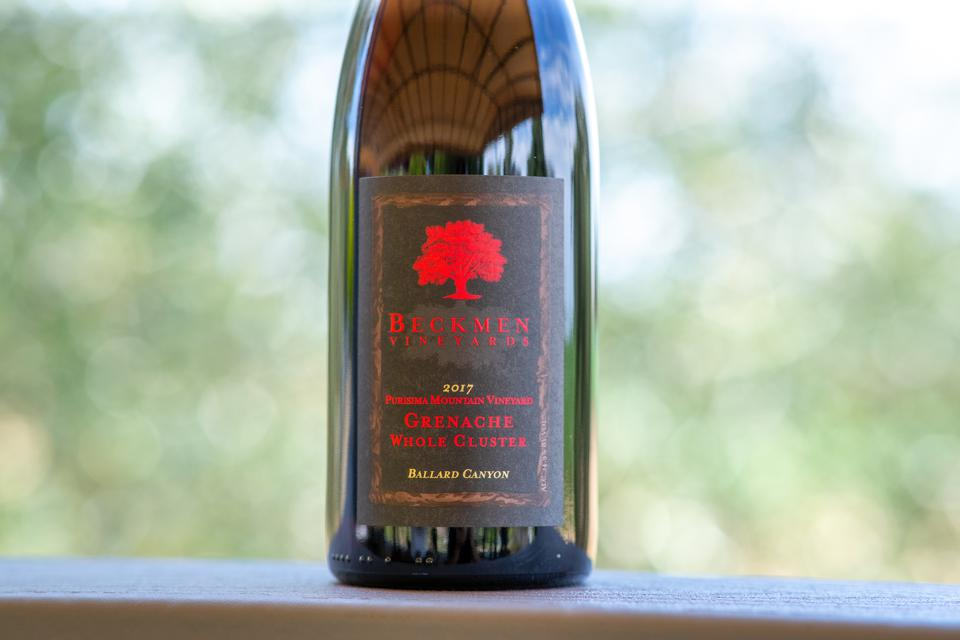 Beckmen Vineyards Whole Cluster Grenache Santa Barbara Wine
